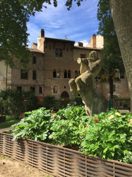 One of the 25 secret gardens of Cahors