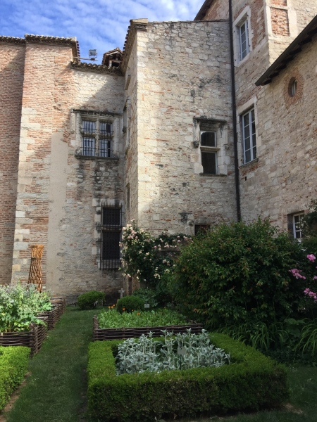One of the 25 secret gardens in Cahors