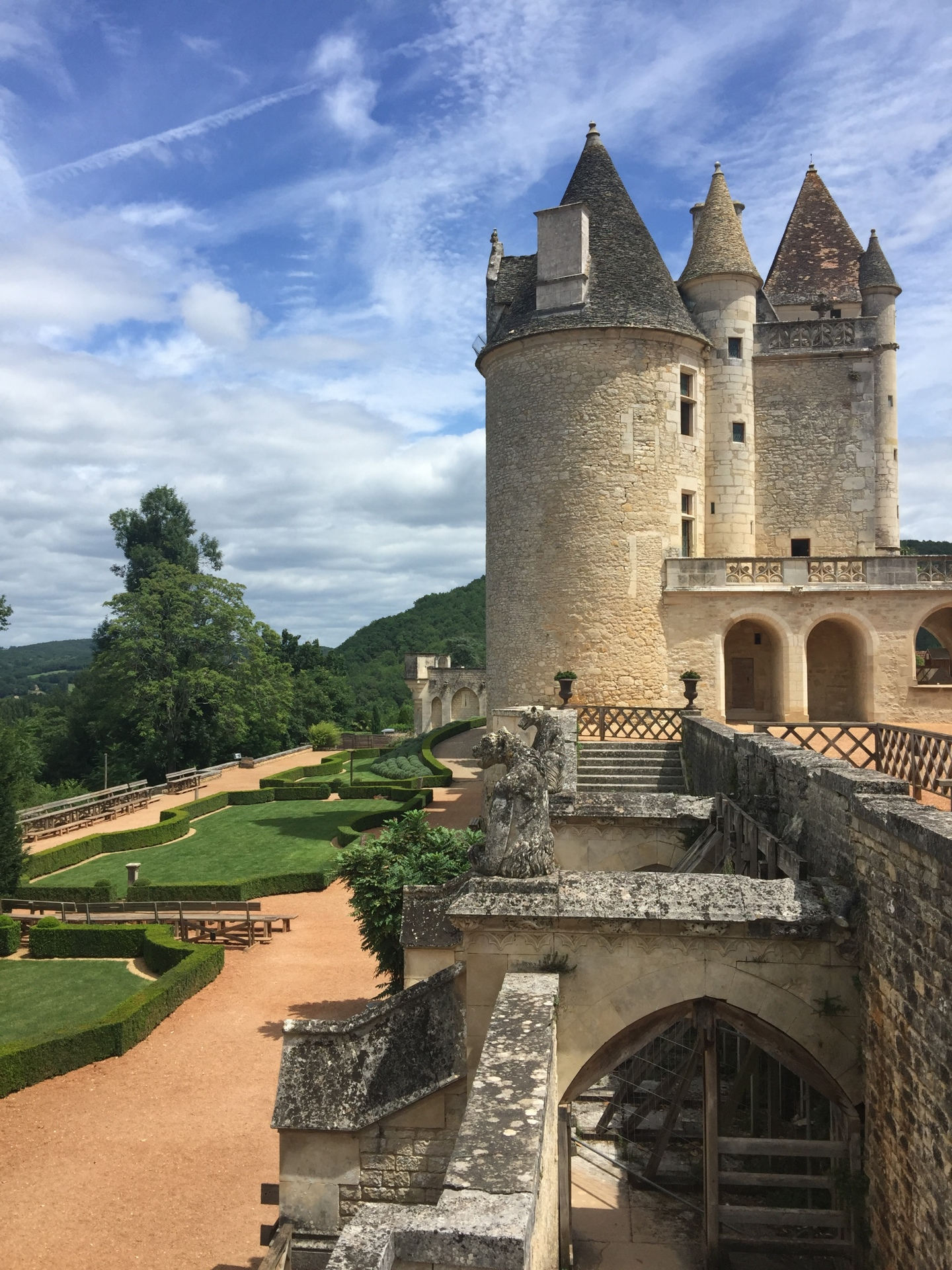 The wonderful Château des Milandes, home of Josephine Baker
